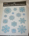 glitter snowflake window stickers christmas venue party home decoration L716