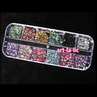 3600pcs Nail Art rhinestones decoration for uv gel acrylic systems 1.5mm