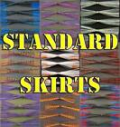 5 Spinnerbait/Jig Skirts. Standard Banded. Awesome colors