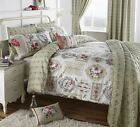 Pretty as a Picture Vintage Duvet Covers & Bedding Quilt Set Green
