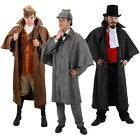 Inverness Coat Adult Steampunk Victorian Western Cowboy Costume Fancy Dress