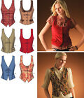 SEWING PATTERN Simplicity 4079 Misses Lined Fitted FASHION VESTS