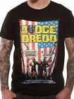 Official Judge Dredd (US Flag Crimes) T-shirt - All sizes
