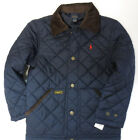 Polo RALPH LAUREN boys sz 10-12 jacket navy blue Hagan long sleeve barn coat NWT
