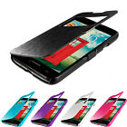For LG Optimus L90 Magnetic Wallet Closing Flip Hard Case Cover