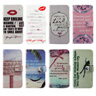 John 3:6 Bible Verse Quote Wallet Flip PU Leather Case For iPhone4 4s 5 5s 5c 6