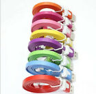 High quality Flat USB Data Sync Charger For iPhone5 iPod Touch5 Nano7 Cord Cable