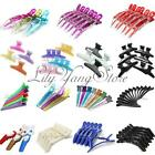 Hairdressing Crocodile Butterfly Hair Salon Claw Clips Section Clamps Grips Set
