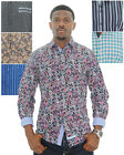 English Laundry Men's Woven Button Up Dress Shirt Assorted Styles
