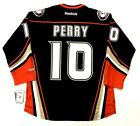 COREY PERRY ANAHEIM DUCKS REEBOK PREMIER NHL THIRD JERSEY W ALTERNATE A