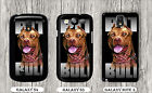 DOG PITBULL BROWN FACE CASE FOR SAMSUNG GALAXY S3 S4 NOTE 3 -me4d