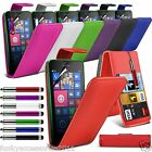 Top Flip Quality Leather Phone Case Cover✔Screen Guard✔Nokia Lumia 530