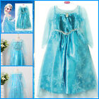 Princess Elsa Anna Halloween Cosplay School Costume Girls Dresses AGE SIZE 3-8T