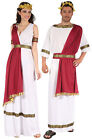 ADULT ROMAN GREEK SPARTAN TOGA FANCY DRESS COSTUME OUTFIT NEW