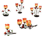 Romantic ROSE CANDLE HOLDER Tealight Holder Modern Candlelabra