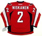 MATT NISKANEN WASHINGTON CAPITALS REEBOK HOME NHL PREMIER JERSEY NEW WITH TAGS