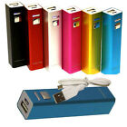 2600mAh Shirt-pocket External Power Bank Battery Charger For Mobile Cell Phone