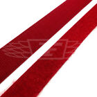 20mm, DARK RED VELCRO SEW ON HOOK AND LOOP CRAFT SEWING CLOTHES