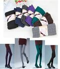 Womens Knit Winter Leggings Fashion Footed Warm Cotton Stockings Thick Leggings