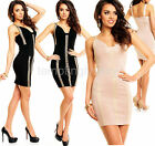 Sexy Bodycon Party Evening Dress Wiggle Pencil Style Club Wear Size 8 10 12