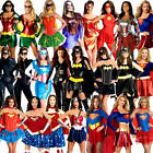 Superhero Ladies Fancy Dress Marvel DC Comic Book Character Womens Adult Costume