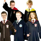 Harry Potter Kids Fancy Dress Book Day Week Wizard Boys Girls Childrens Costume