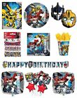 TRANSFORMERS {NEW 2014} Birthday PARTY RANGE (Tableware Balloons & Decorations)