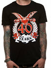 Official Cock Sparrer (40 Years) Imported T-shirt - All sizes