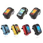 Bike Bicycle Frame Front Tube Bag Touch Case For iPhone 4/5/6 4.2 to 5.5-inch