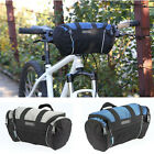 Cycling Bike Bicycle Front Pannier Basket Handlebar Bar Bag Quick Release 2Color