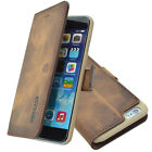 "Apple iPhone 6 Plus (5,5"") Book/Flip Tasche Ledertasche Handytasche Case Hülle"