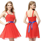 Ever Pretty 2015 Red Short Party Casual Summer Cheap Prom Homecoming Dress 05044