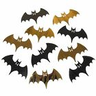 Spooky Foil Bat Cutouts - Halloween Decorations - Choose Qty