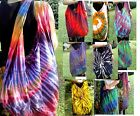 TIE DYE BAG - CROSSOVER BAG - YAAM / MONK BAG - SLING, HIP, SHOULDER - HANDMADE