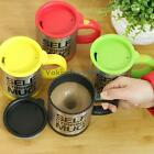 V1NF Stainless Lazy Self Stirring Mug Automatic Mixing Coffee Cup New