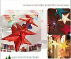 Pentagram Lampshade Lantern Hanging Wedding Christmas Electronic Decoration