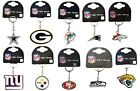 OFFICAL NFL - CHOOSE TEAM - METAL CREST KEYRING KEYCHAIN SOUVENIR GIFT XMAS