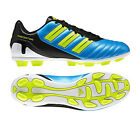 New Mens Adidas Predito Predator HG Blue Football Boots Trainers Size 6-12 UK