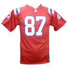 New England Patriots Rob Gronkowski NFL 2014 Youth Red Game Jersey