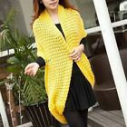 Women/Lady Knitted Crochet Scarf Cowl Snood Neck Warmer Shawl Stole Wrap Loop