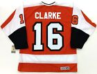 BOBBY CLARKE PHILADELPHIA FLYERS CCM VINTAGE JERSEY NEW WITH TAGS