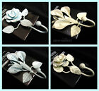 Rose Lily shabby chic curtain tassel hooks small tie back garden door wall hook
