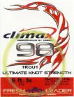 Climax-Mono-Fluorocarbon-Tapered-Fly-Fishing-Leaders-Select-Quantity-Size