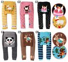 Cute Baby Toddler Boys Girls Cotton Animal Pattern Legging Tights Pants /CS