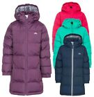 RRP £45 TRESPASS GIRLS PADDED TIFFY JACKET/COAT WITH ZIP OFF HOOD SCHOOL WEAR