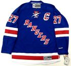 "RYAN McDONAGH NEW YORK RANGERS REEBOK PREMIER HOME JERSEY W/ CAPTAINS ""C"""