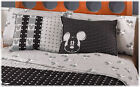 New Boys Gray Mickey Mouse Sheet Set