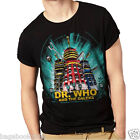 Doctor Who & The Daleks Men's T-shirt Tee Tshirt  (DR11)