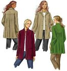 SEWING PATTERN Butterick B5533 Misses Loose Oversized CASUAL FALL JACKETS COATS