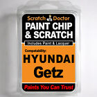 HYUNDAI GETZ TOUCH UP PAINT Stone Chip Scratch Repair Kit 2003-2010